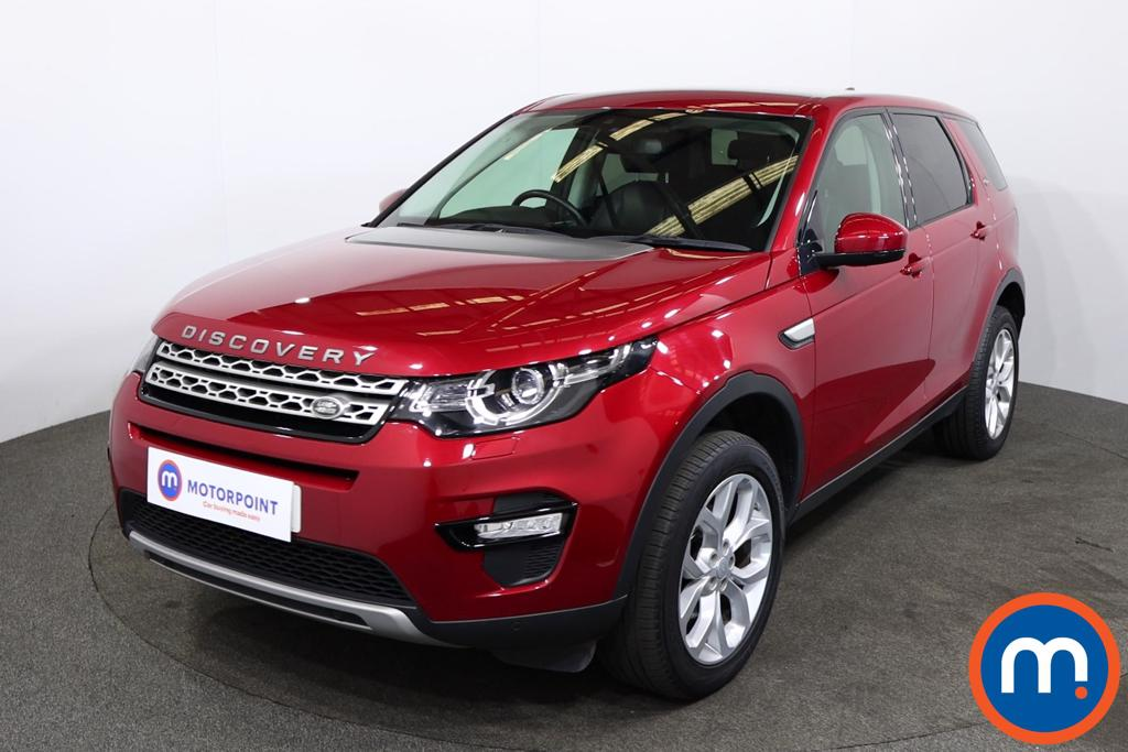 Land Rover Discovery Sport 2.0 TD4 180 HSE 5dr Auto - Stock Number 1221653 Passenger side front corner