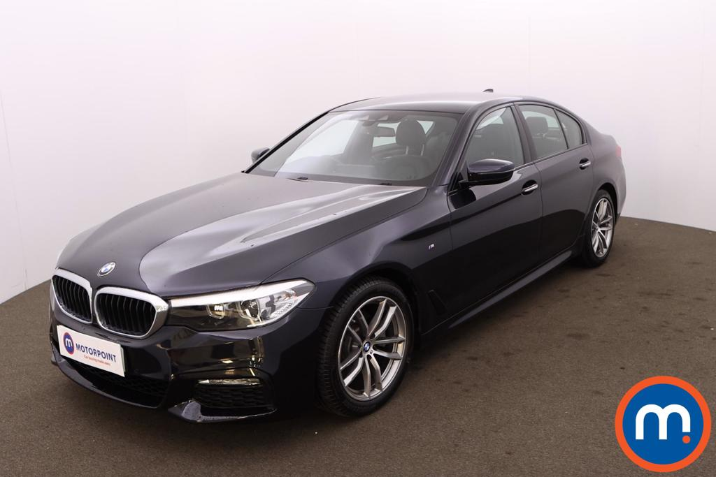 BMW 5 Series 520d xDrive M Sport 4dr Auto - Stock Number 1215542 Passenger side front corner