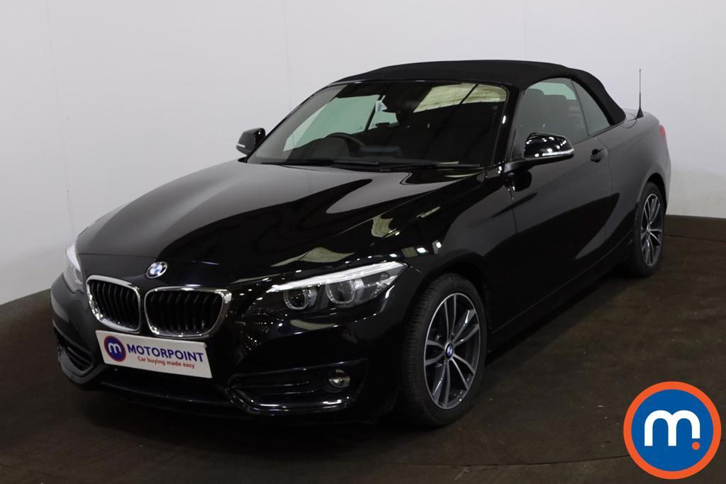 BMW 2 Series 218d Sport 2dr [Nav] Step Auto - Stock Number 1220505 Passenger side front corner