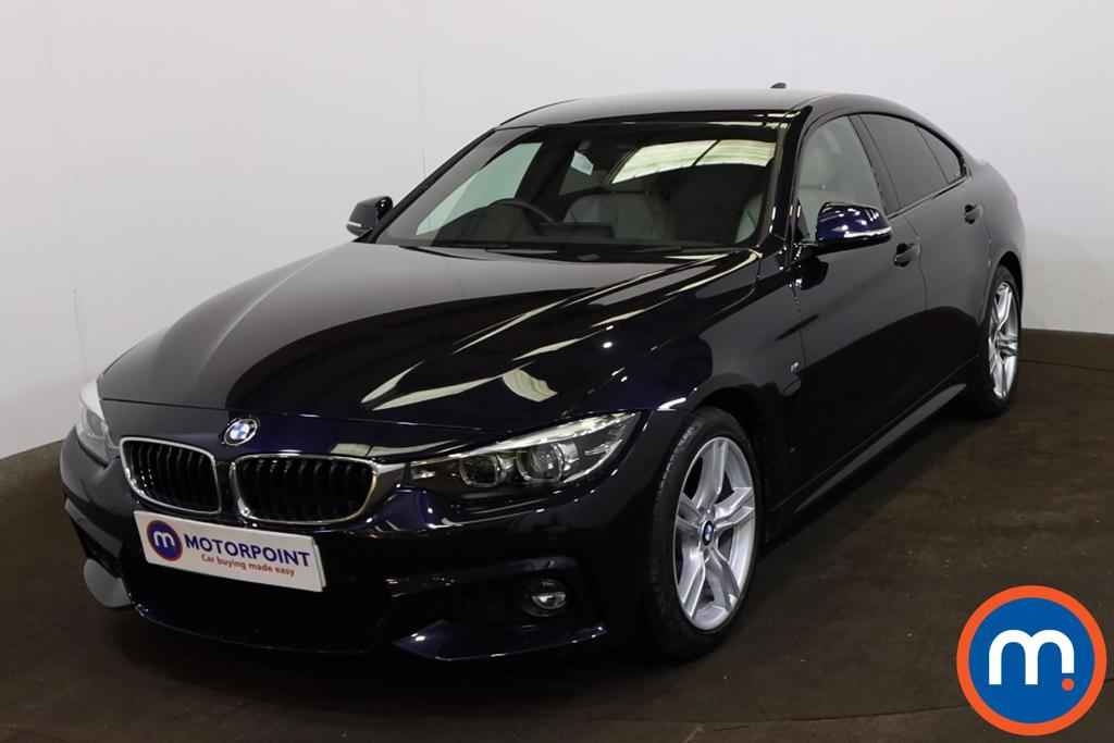 BMW 4 Series 420i M Sport 5dr Auto [Professional Media] - Stock Number 1221621 Passenger side front corner
