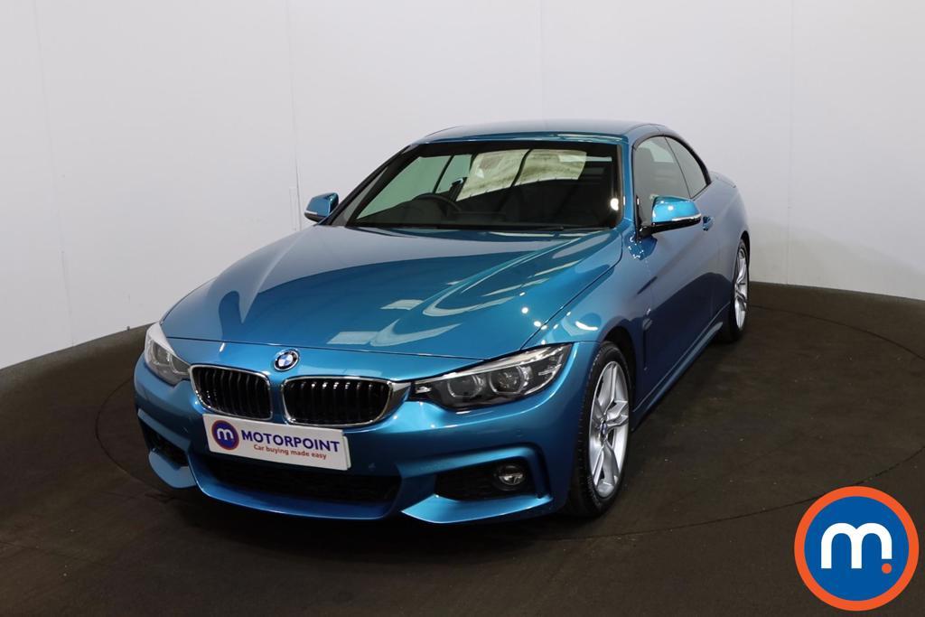 BMW 4 Series 440i M Sport 2dr Auto [Professional Media] - Stock Number 1221675 Passenger side front corner
