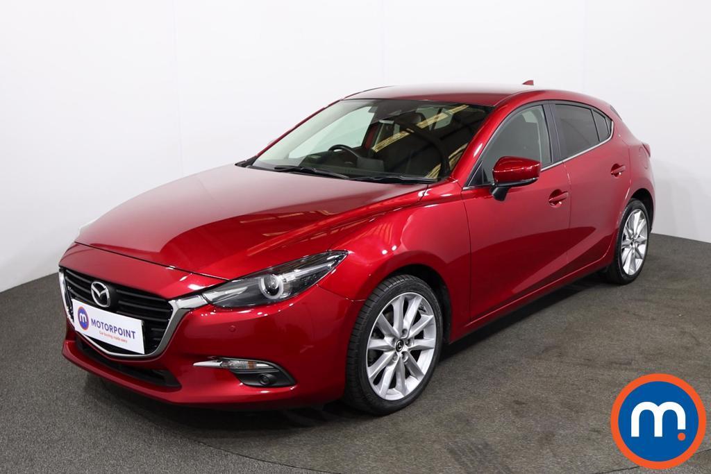 Mazda 3 2.2d Sport Nav 5dr - Stock Number 1222297 Passenger side front corner