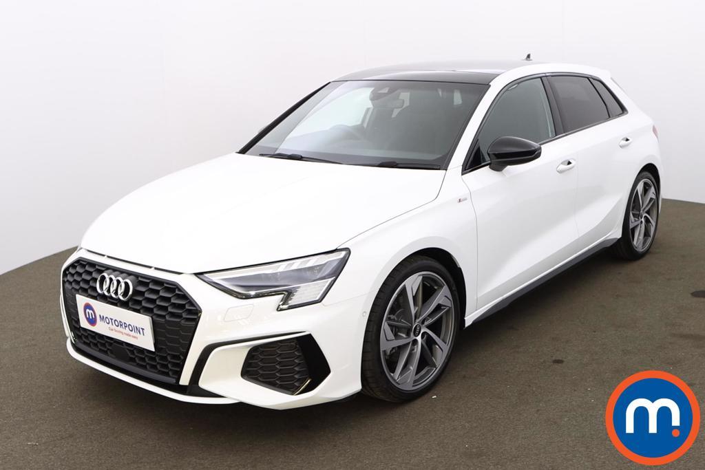 Audi A3 35 TFSI Edition 1 5dr S Tronic [Comfort-PlusSound] - Stock Number 1221539 Passenger side front corner
