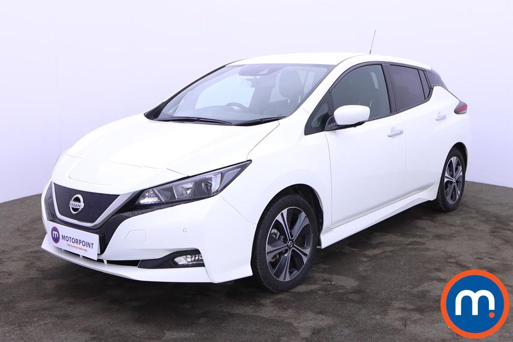 Nissan Leaf 110kW N-Connecta 40kWh 5dr Auto - Stock Number 1221743 Passenger side front corner