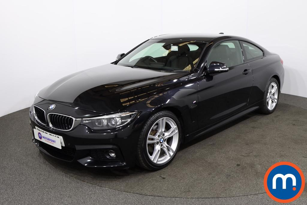 BMW 4 Series 420i M Sport 2dr [Professional Media] - Stock Number 1219985 Passenger side front corner