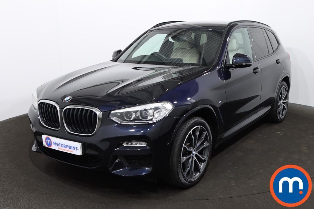 BMW X3 xDrive30d M Sport 5dr Step Auto - Stock Number 1223005 Passenger side front corner