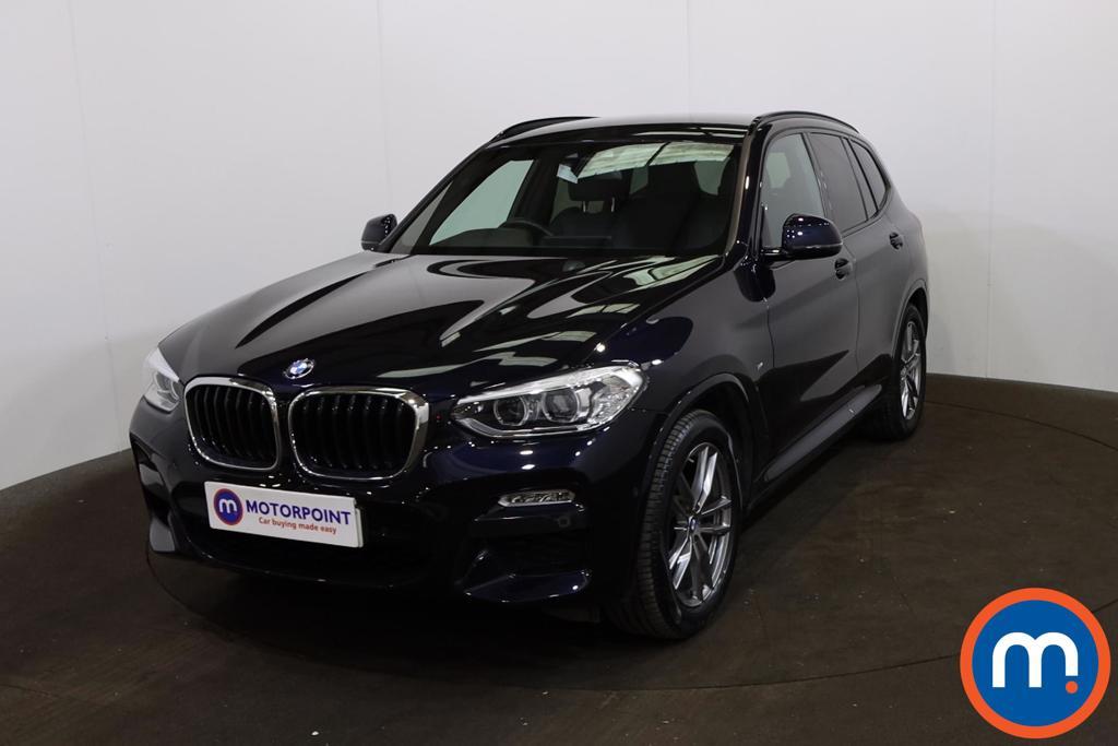 BMW X3 xDrive20d M Sport 5dr Step Auto - Stock Number 1222778 Passenger side front corner