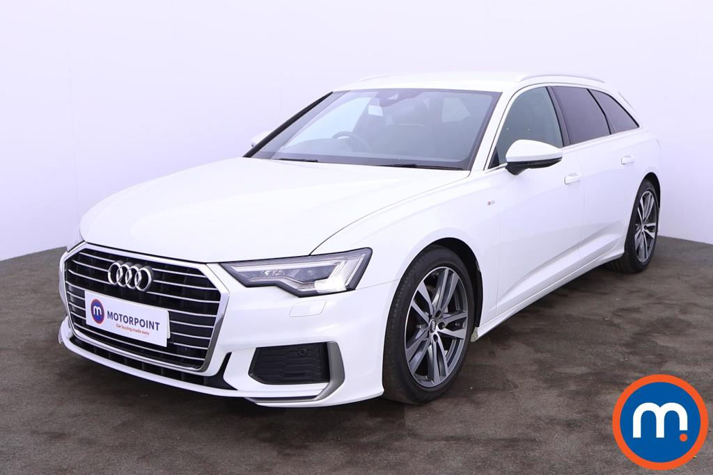 Audi A6 40 TDI S Line 5dr S Tronic [Tech Pack] - Stock Number 1223335 Passenger side front corner