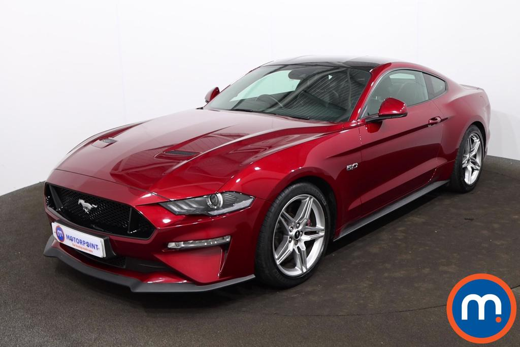 Ford Mustang 5.0 V8 GT 2dr Auto - Stock Number 1223525 Passenger side front corner