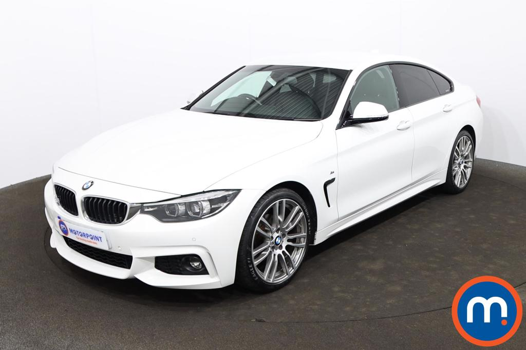 BMW 4 Series 420i M Sport 5dr Auto [Professional Media] - Stock Number 1224045 Passenger side front corner