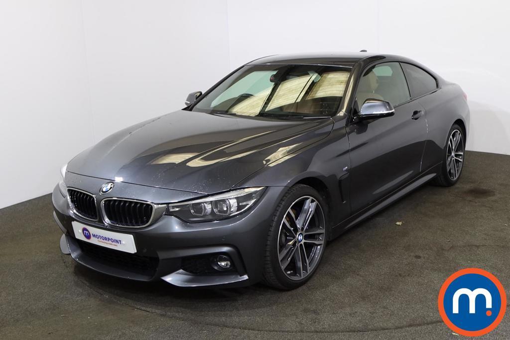 BMW 4 Series 420d [190] M Sport 2dr [Professional Media] - Stock Number 1222363 Passenger side front corner