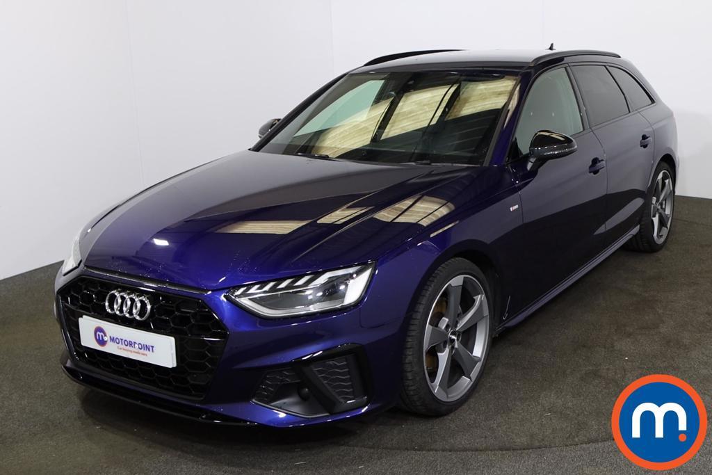 Audi A4 40 TFSI Black Edition 5dr S Tronic - Stock Number 1222525 Passenger side front corner