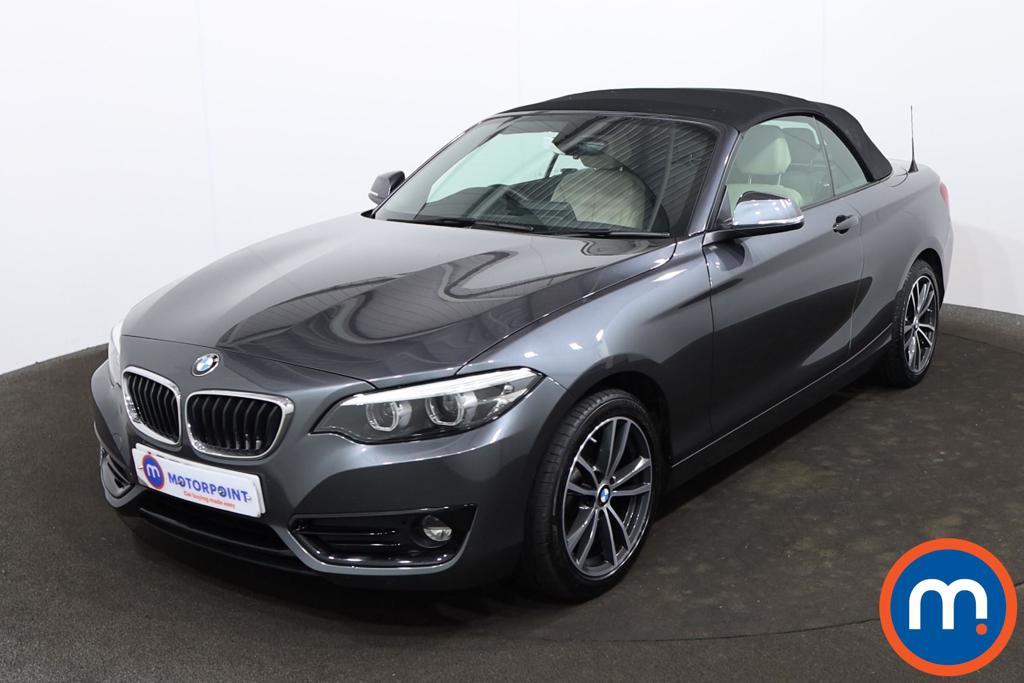 BMW 2 Series 218i Sport 2dr [Nav] - Stock Number 1224535 Passenger side front corner