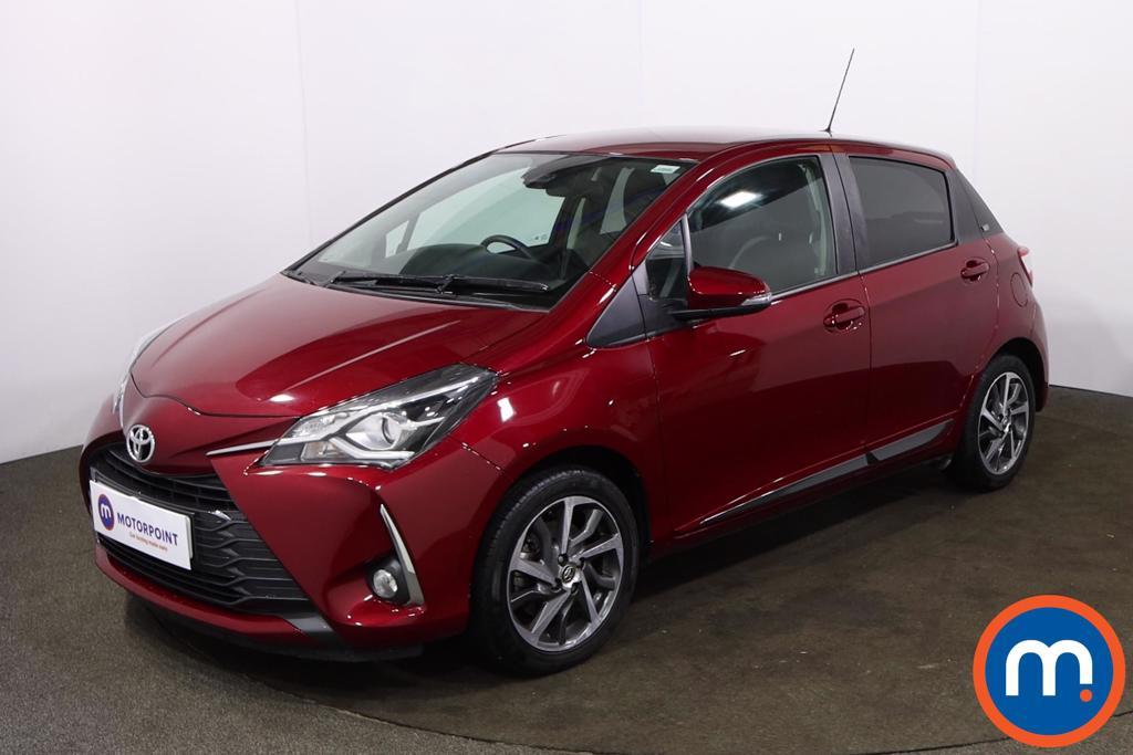 Toyota Yaris 1.5 VVT-i Y20 5dr [Mono-tone] - Stock Number 1220023 Passenger side front corner