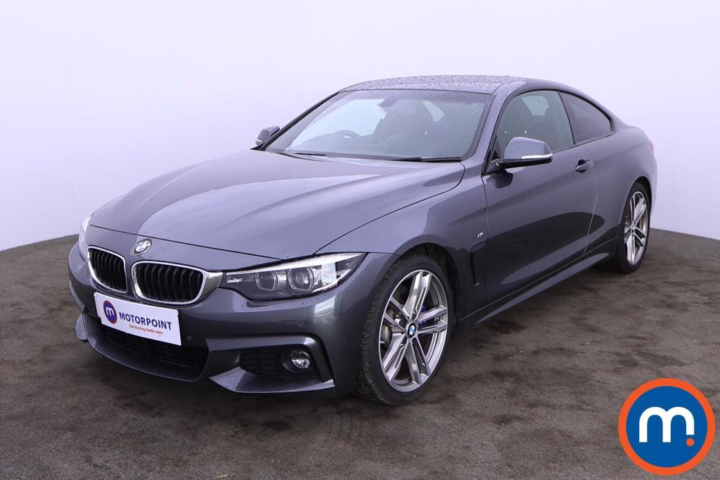 BMW 4 Series 430i M Sport 2dr Auto [Professional Media] - Stock Number 1222912 Passenger side front corner
