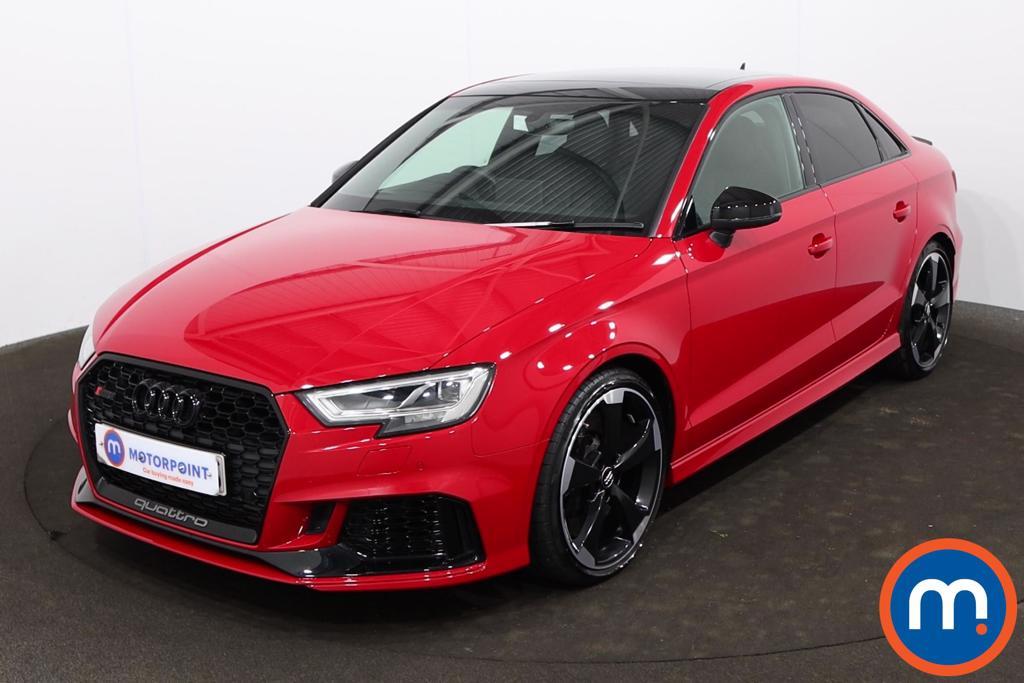 Audi RS3 RS 3 TFSI 400 Quattro Audi Sport Ed 4dr S Tronic - Stock Number 1223866 Passenger side front corner