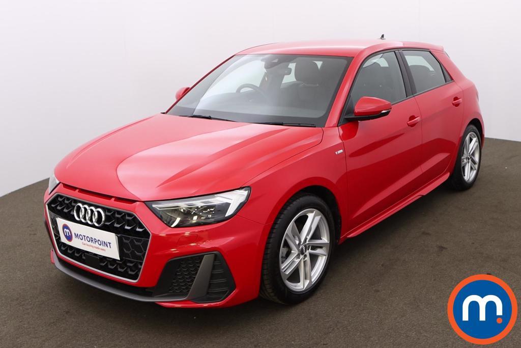 Audi A1 30 TFSI S Line 5dr [Tech Pack] - Stock Number 1223974 Passenger side front corner