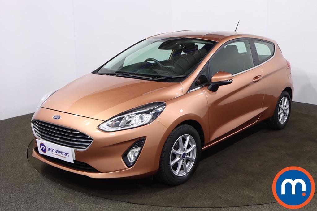 Ford Fiesta 1.0 EcoBoost Zetec B-PlusO Play 3dr - Stock Number 1218326 Passenger side front corner
