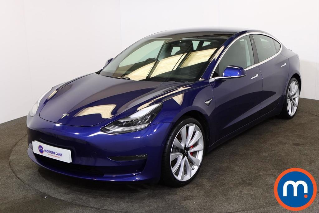 Tesla Model 3 Performance AWD 4dr [Performance Upgrade] Auto - Stock Number 1223544 Passenger side front corner