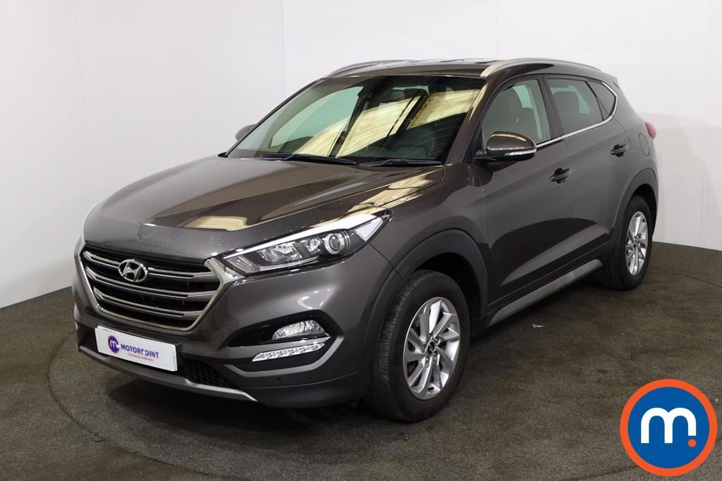 Hyundai Tucson 1.7 CRDi Blue Drive Premium 5dr 2WD - Stock Number 1224432 Passenger side front corner