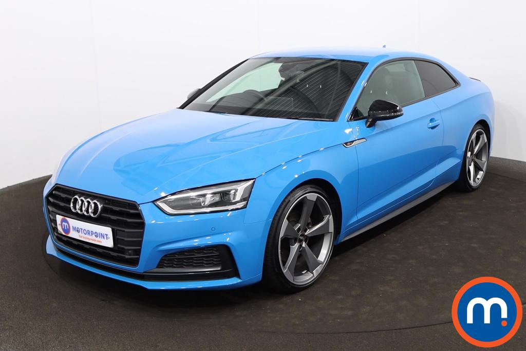 Audi A5 40 TFSI Black Edition 2dr S Tronic [Tech Pack] - Stock Number 1218784 Passenger side front corner