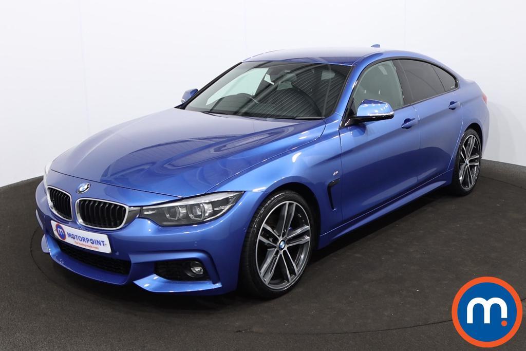 BMW 4 Series 420d [190] M Sport 5dr Auto [Professional Media] - Stock Number 1220478 Passenger side front corner