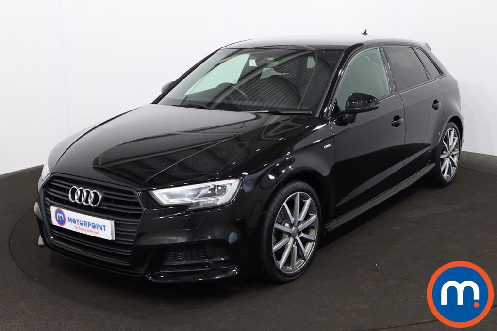 Audi A3 1.5 TFSI Black Edition 5dr - Stock Number 1223802 Passenger side front corner