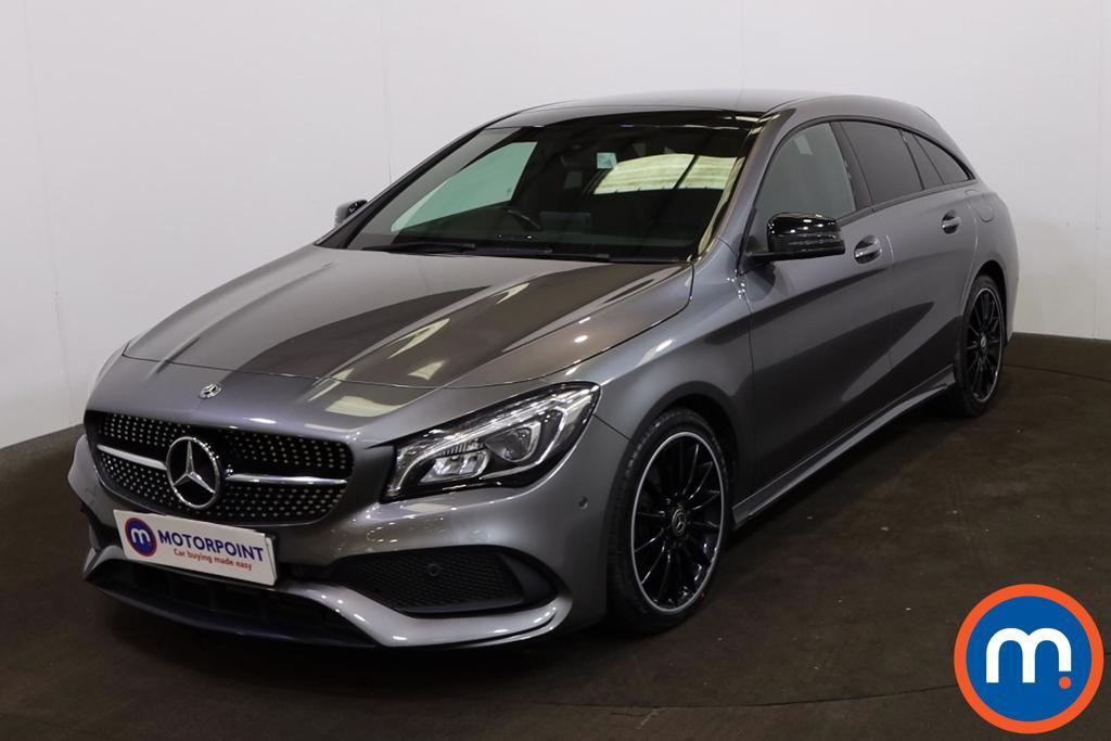 Mercedes-Benz CLA CLA 220d AMG Line 5dr Tip Auto - Stock Number 1222606 Passenger side front corner