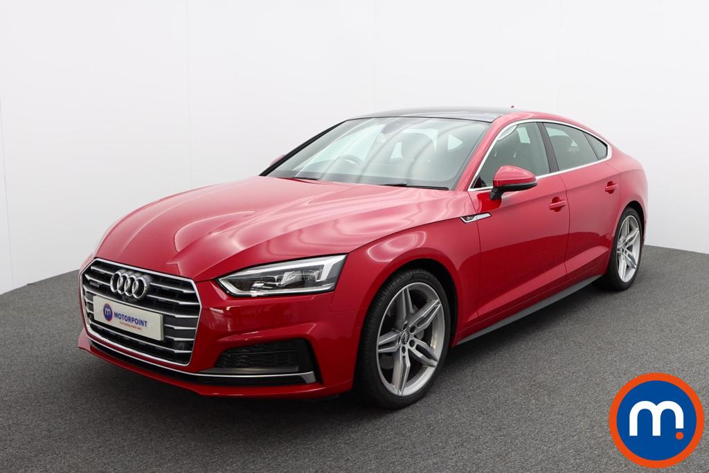 Audi A5 2.0 TDI Quattro S Line 5dr S Tronic [Tech Pack] - Stock Number 1222860 Passenger side front corner