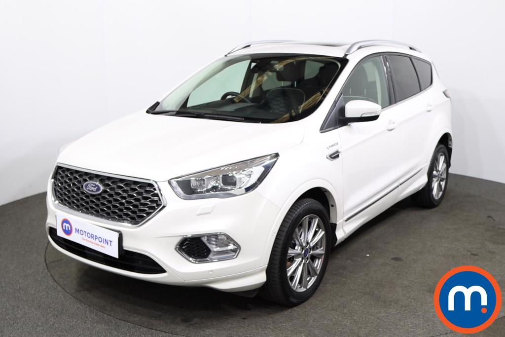 Ford Kuga Vignale 2.0 TDCi 180 [Pan roof] 5dr Auto - Stock Number 1226300 Passenger side front corner