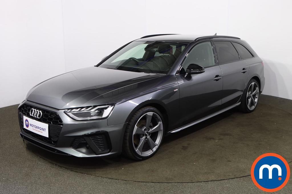 Audi A4 35 TDI Black Edition 5dr S Tronic - Stock Number 1227176 Passenger side front corner