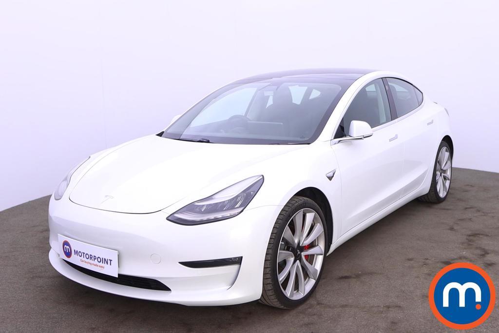 Tesla Model 3 Performance AWD 4dr [Performance Upgrade] Auto - Stock Number 1222910 Passenger side front corner