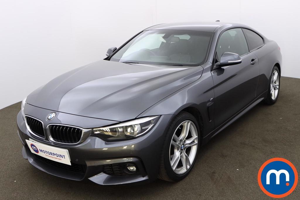 BMW 4 Series 420i M Sport 2dr Auto [Professional Media] - Stock Number 1224865 Passenger side front corner