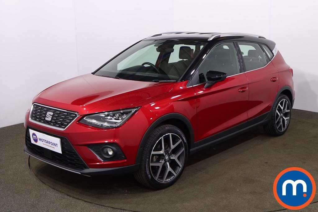 Seat Arona 1.0 TSI 115 Xcellence Lux [EZ] 5dr - Stock Number 1225858 Passenger side front corner