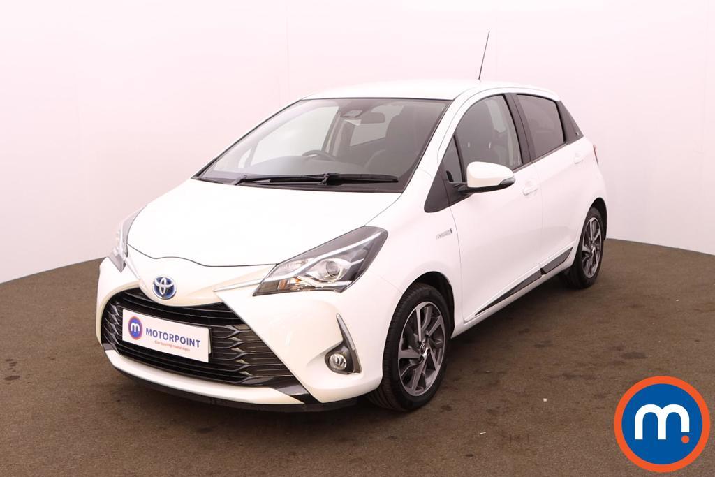 Toyota Yaris 1.5 Hybrid Y20 5dr CVT [Mono-tone] - Stock Number 1226328 Passenger side front corner