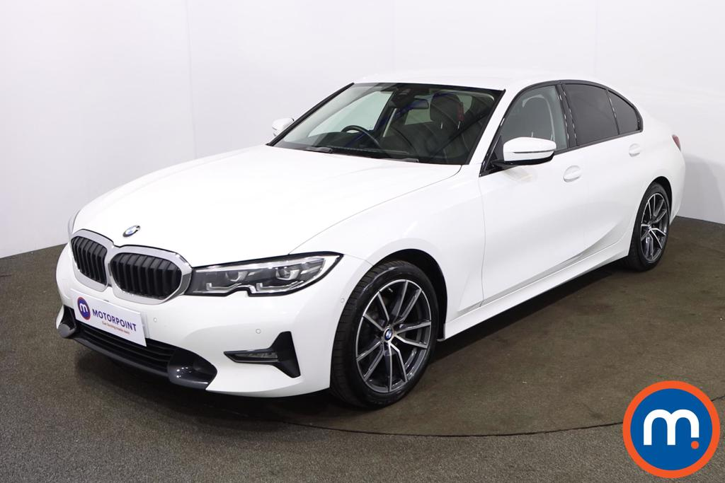 BMW 3 Series 320i Sport 4dr Step Auto - Stock Number 1225479 Passenger side front corner