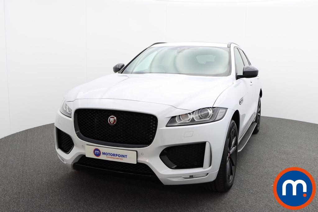 Jaguar F-Pace 2.0d [180] Chequered Flag 5dr Auto AWD - Stock Number 1227205 Passenger side front corner