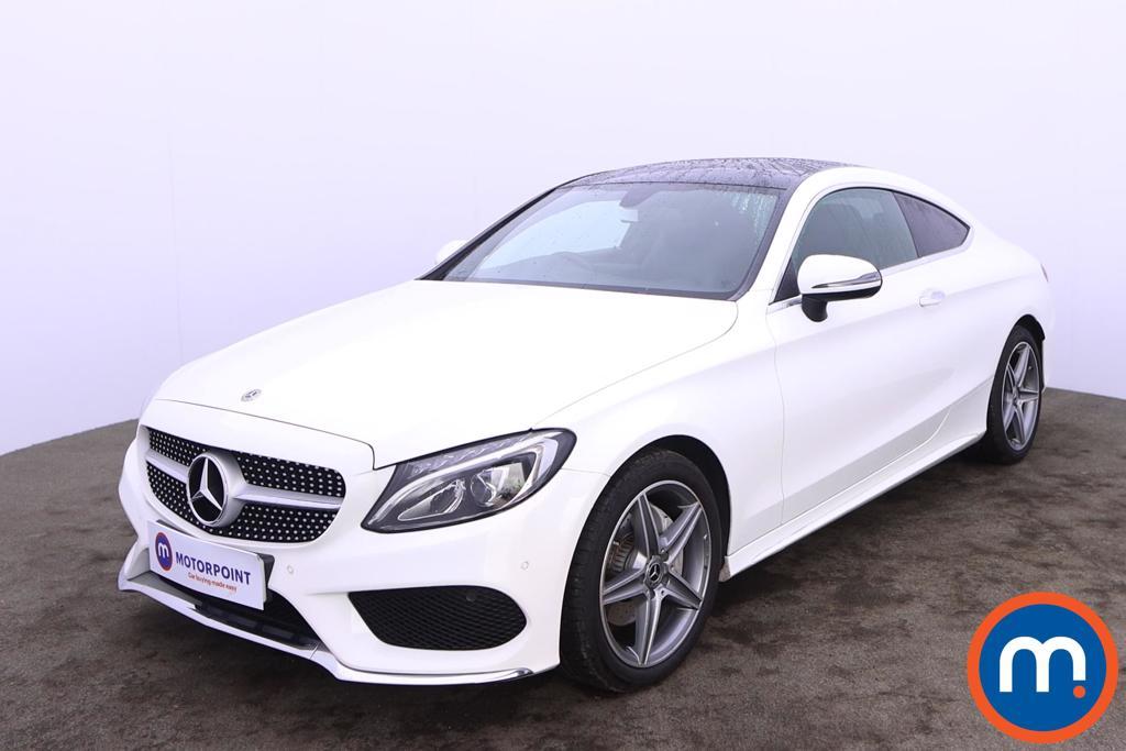 Mercedes-Benz C Class C200 AMG Line Premium 2dr 9G-Tronic - Stock Number 1227924 Passenger side front corner