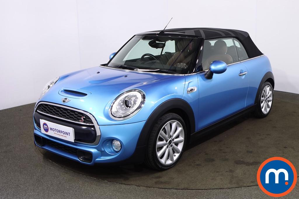 Mini Convertible 2.0 Cooper S 2dr Auto [Chili-Media Pack XL] - Stock Number 1220594 Passenger side front corner