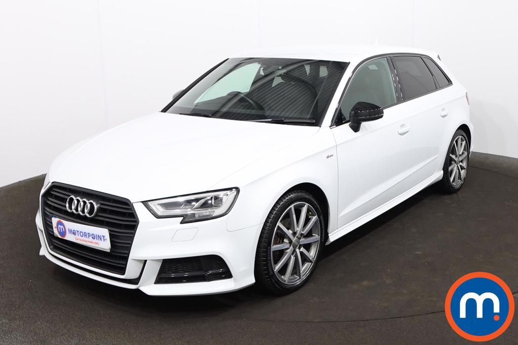 Audi A3 1.5 TFSI Black Edition 5dr - Stock Number 1226323 Passenger side front corner