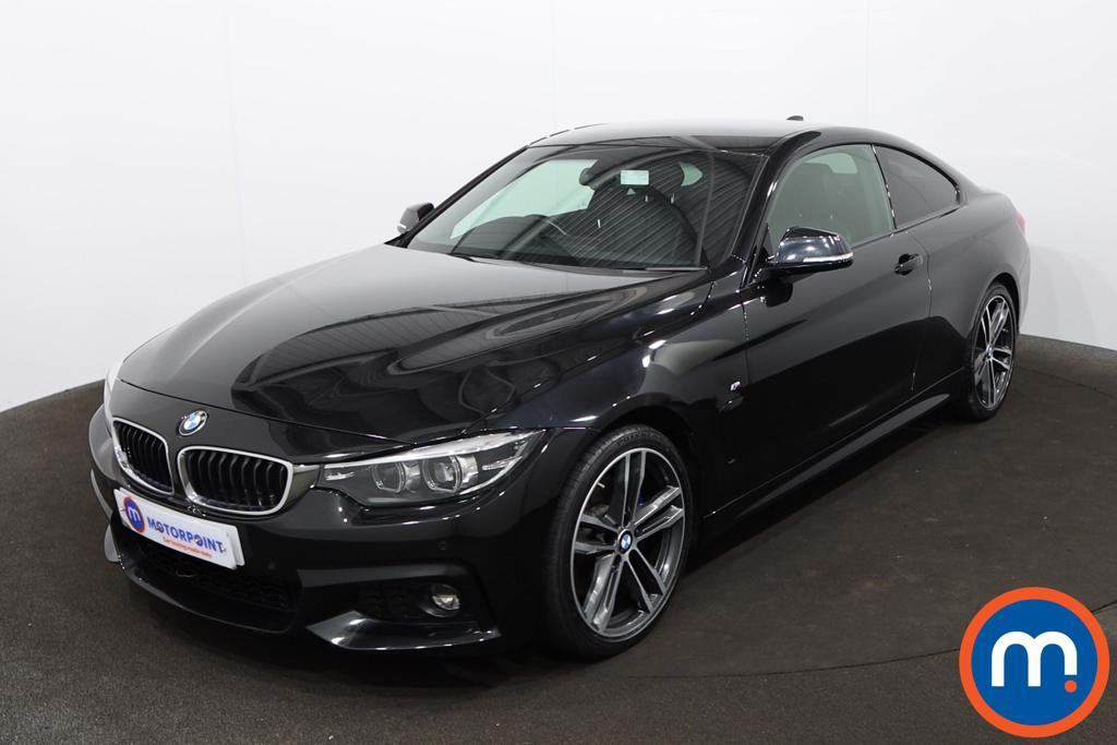 BMW 4 Series 420d [190] M Sport 2dr Auto [Professional Media] - Stock Number 1227237 Passenger side front corner