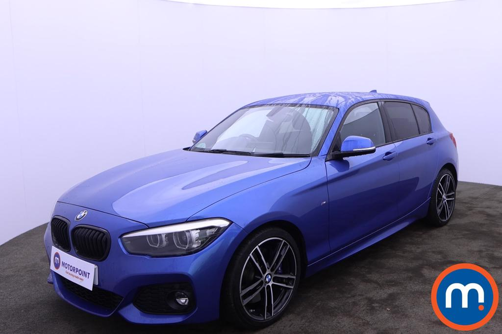 BMW 1 Series 116d M Sport Shadow Ed 5dr Step Auto - Stock Number 1227836 Passenger side front corner