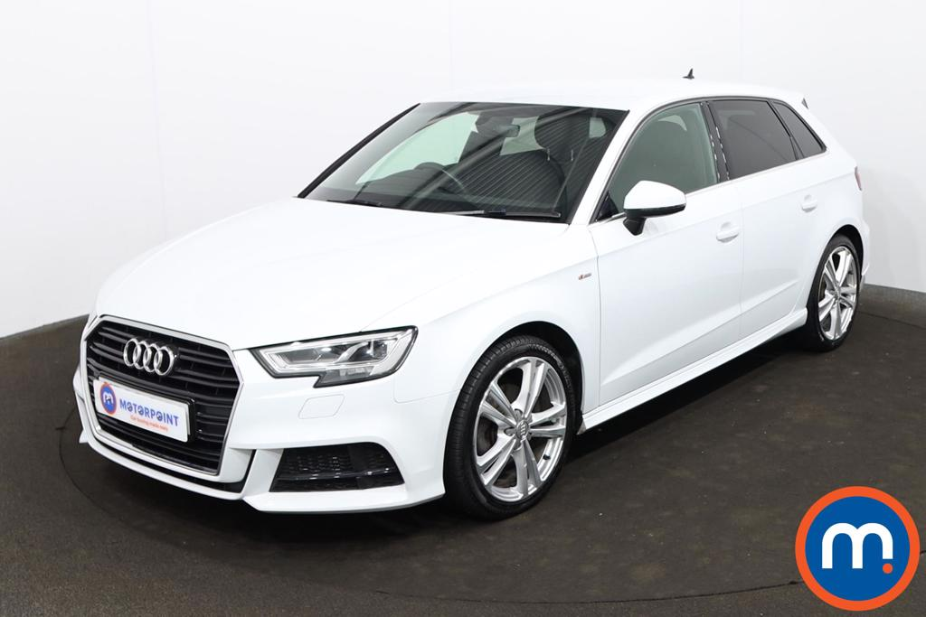 Audi A3 35 TFSI S Line 5dr S Tronic [Tech Pack] - Stock Number 1225165 Passenger side front corner