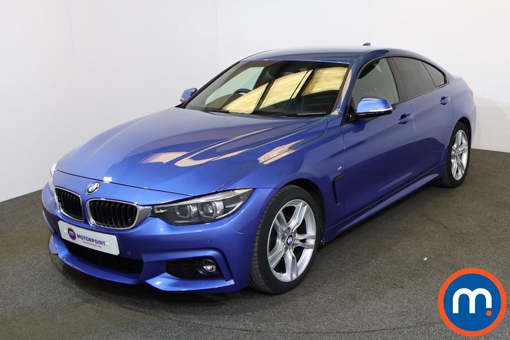 BMW 4 Series 420i M Sport 5dr Auto [Professional Media] - Stock Number 1225676 Passenger side front corner