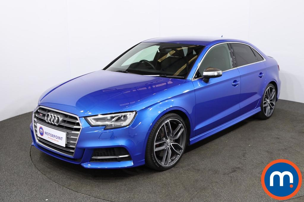 Audi A3 S3 TFSI Quattro 4dr S Tronic - Stock Number 1226295 Passenger side front corner