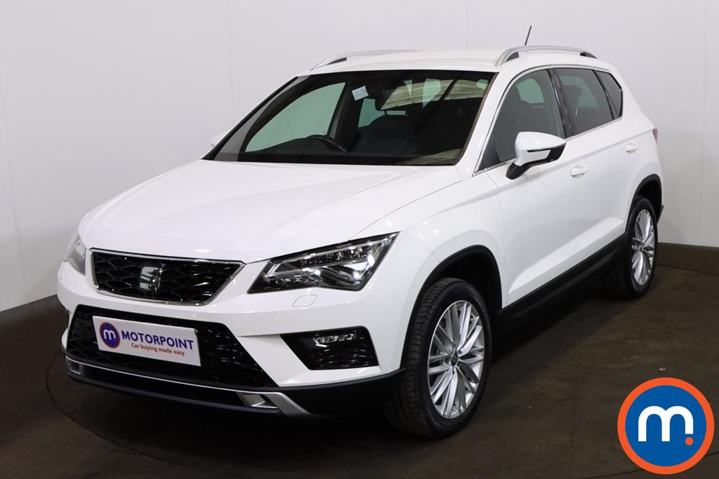 Seat Ateca 1.4 EcoTSI Xcellence 5dr - Stock Number 1226901 Passenger side front corner
