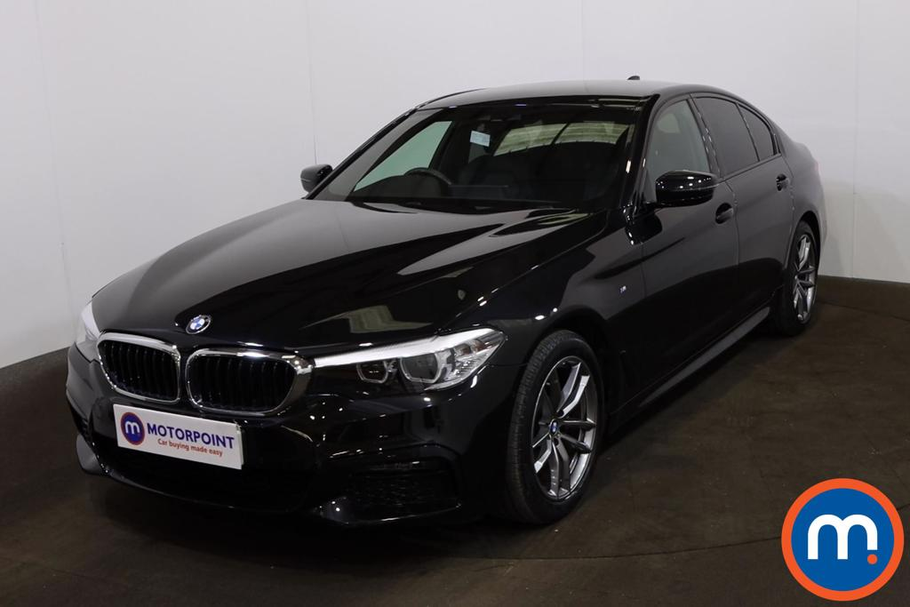 BMW 5 Series 520i M Sport 4dr Auto - Stock Number 1227831 Passenger side front corner