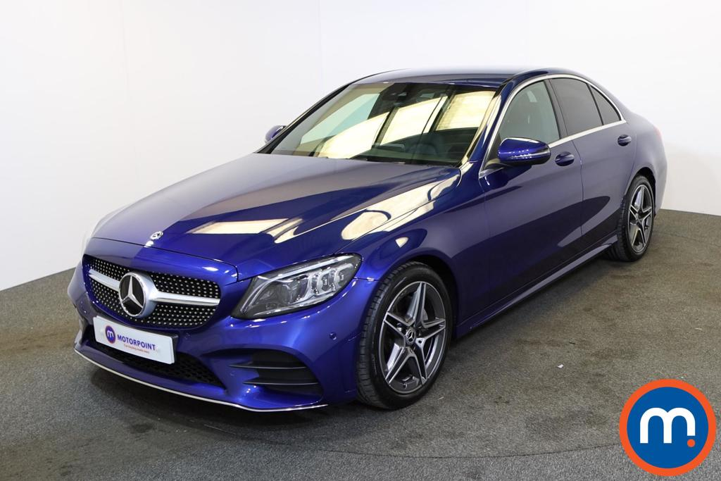 Mercedes-Benz C Class C200 AMG Line Edition 4dr 9G-Tronic - Stock Number 1220597 Passenger side front corner