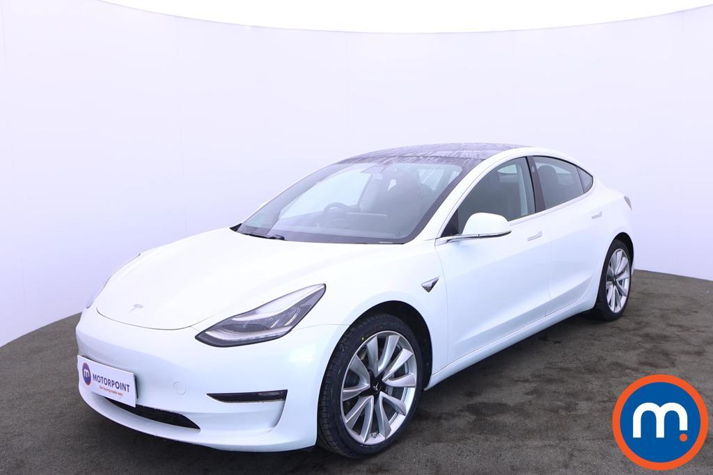 Tesla Model 3 Long Range AWD 4dr Auto - Stock Number 1221698 Passenger side front corner