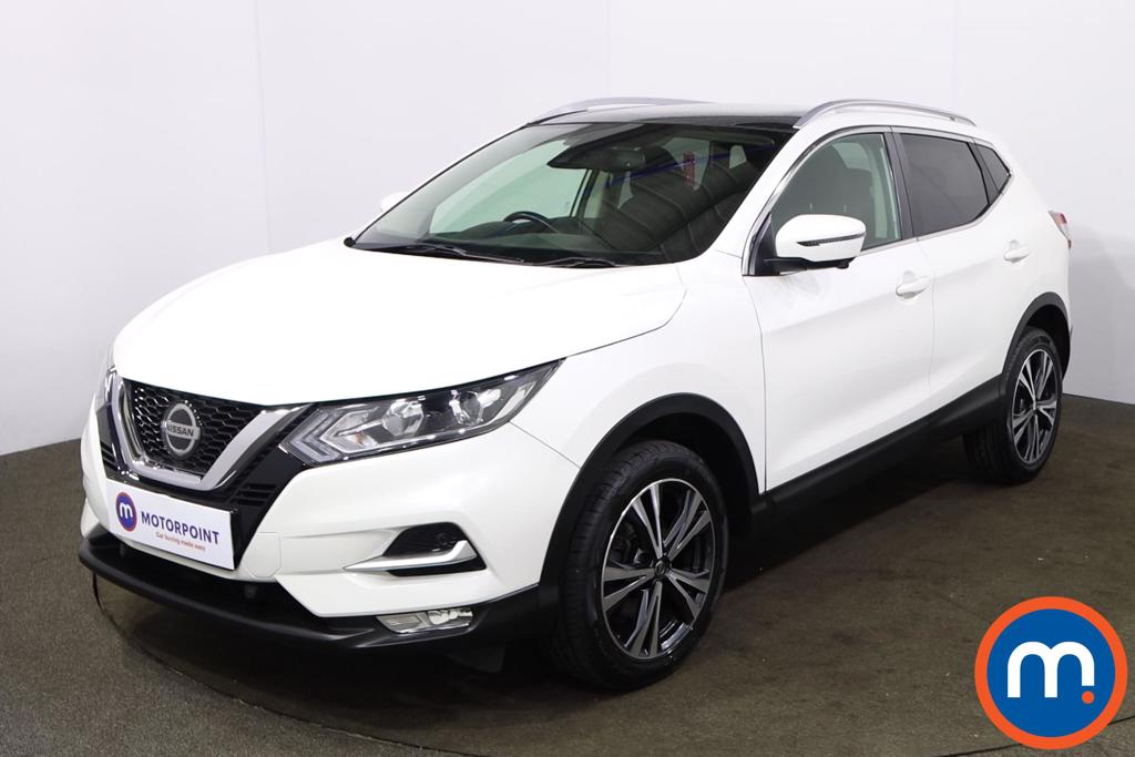 Nissan Qashqai 1.5 dCi N-Connecta [Glass Roof Pack] 5dr - Stock Number 1222243 Passenger side front corner